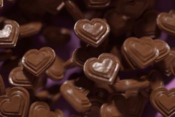 De la malbouffe, vraiment ?  Biblio chocolat et cacahuètes